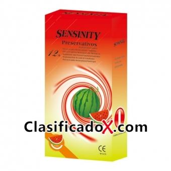 Sensinity Preservativos Sandia 12 Uds