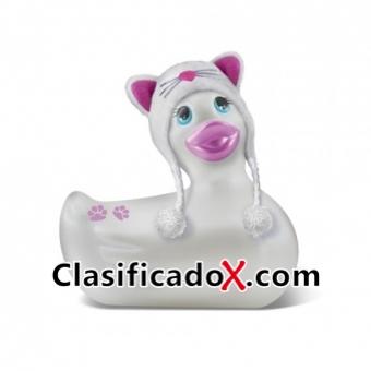 Pato Vibrador Meow De Viaje Blanco