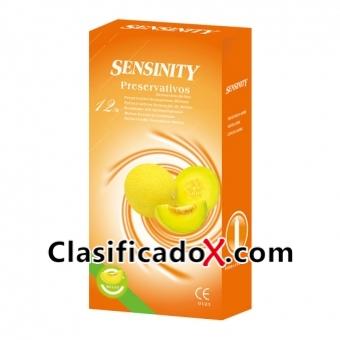 Sensinity Preservativos Melon 12 Uds