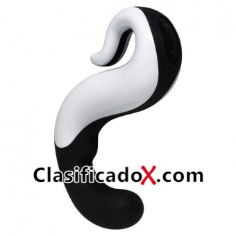 DELIGHT VIBRADOR BLANCO / NEGRO RECARGABLE