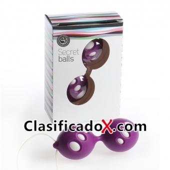 Secret Balls Bolas Chinas Ovalos Morado