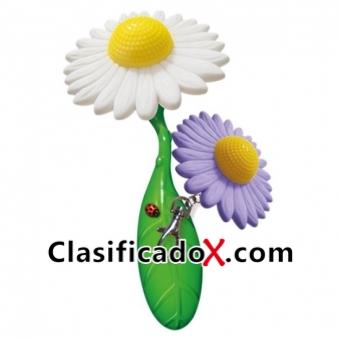 Flower Power Set De Vibrador Y Llavero