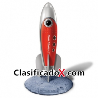 Retro Pocket Rockets Vibrador Rojo