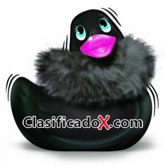 Pato Vibrador Paris Negro