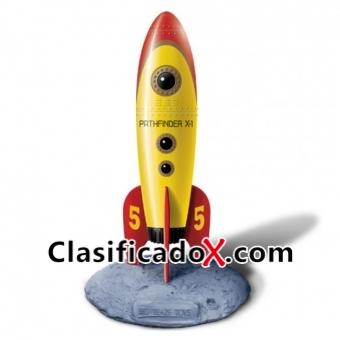 Retro Pocket Rockets Vibrador Amarillo