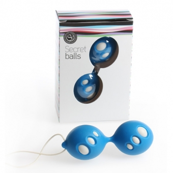 Secret Balls Bolas Chinas Ovalos Azul