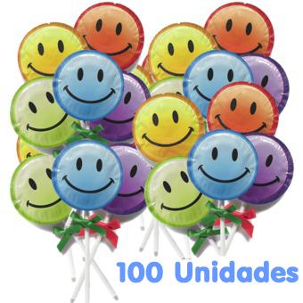 EXS Smiley Face Lollipop Piruleta Granel