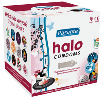 Pasante Halo Condoms Granel