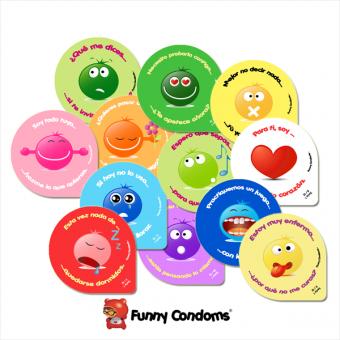 Funny Condoms Serie Smiles nº 1
