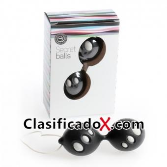 Secret Balls Bolas Chinas Ovalos Negras