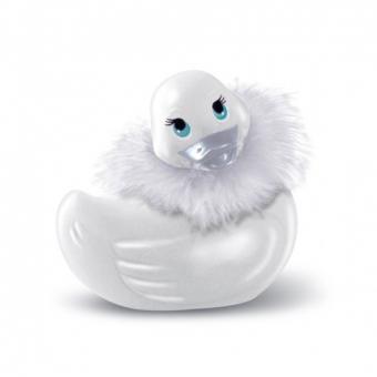 Pato Vibrador Paris Blanco De Viaje