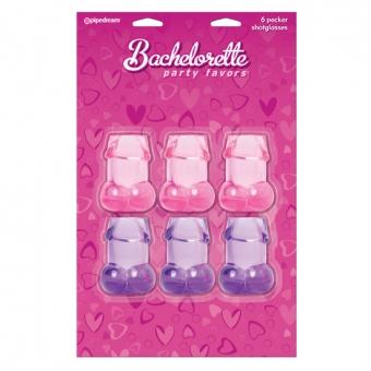 Bachelorette 6 Vasos De Chupito En Forma De Pene