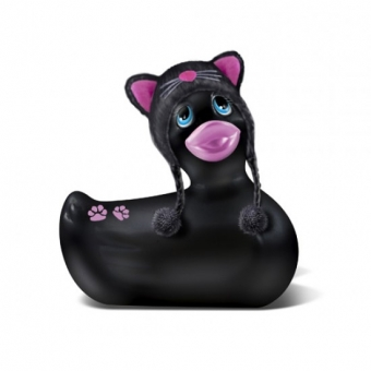 Pato Vibrador Meow De Viaje Negro