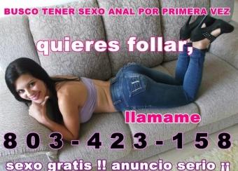 telefono 803 423 158 .,HOLA SOY KARLA BUSCO CHICOS PARA CONOCERNOS Y RELACIONAR..
