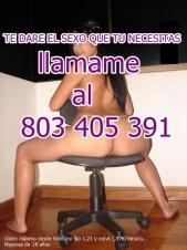 telefono 80 34 05 391 LEANDRA COÑO PELUDO