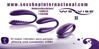 We-Vibe 4 PluS la tecnología cómplice del juego sexshop los olivos juguetes sexuales garantizados 01-5400224 #969889888