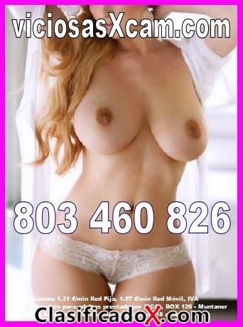 Telefono porno, sexo telefonico, charlas calientes 24h. 803.460.826 y sexo cam, videollamada porno en tu movil