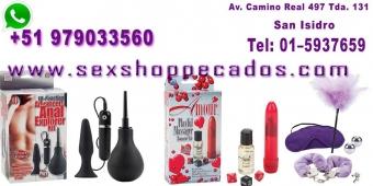 sexshop pecados - los mejores juguetes cel:979033560