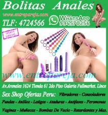 Bolitas anales sexshop ofertas juguetes dealcoba vibradores piel TLF: 4724566 - 994570256