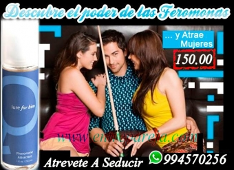 PERFUMES FEROMONAS LURE PARA CONQUISTAR TLF: 4724566 - 994570256