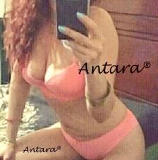 Sensual y delicada, alta, de vientre plano, esbelta y0 s0y Antara