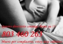 SEXO TELEFÓNICO, CHICA CALIENTE ESPERA TU LLAMADA 803499934