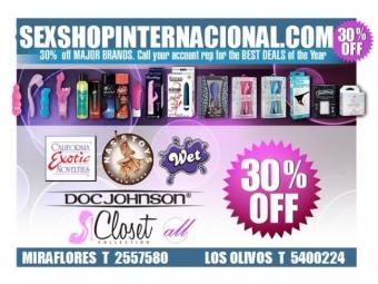 Dildos -Desarrolladres de Pene Sexshop Internacional Lima Peru envios Nacionales Tlf 01-5400224 - 964864773