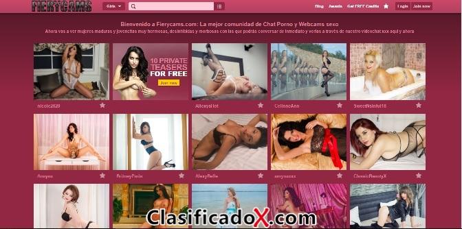 Videochat porno 24 horas - Chicas en webcams sexo GRATIS
