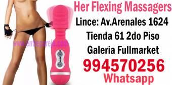 Vibrador Nodulado Multifunción de Silicona sextiendas peru sexshop  Tlf:  4724566 - 994570256