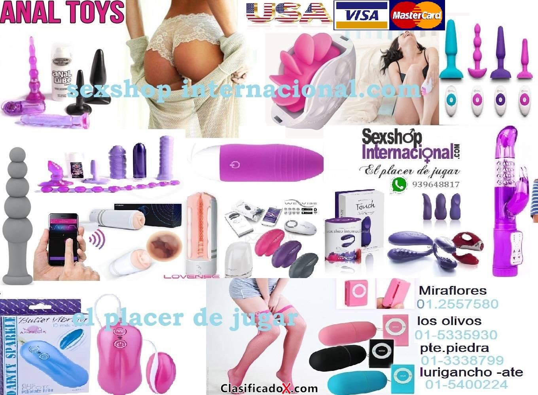 SEXSHOP INTERNACIONAL:ELPLACER DE JUGAR CL 964864773 TLF 01 5335930