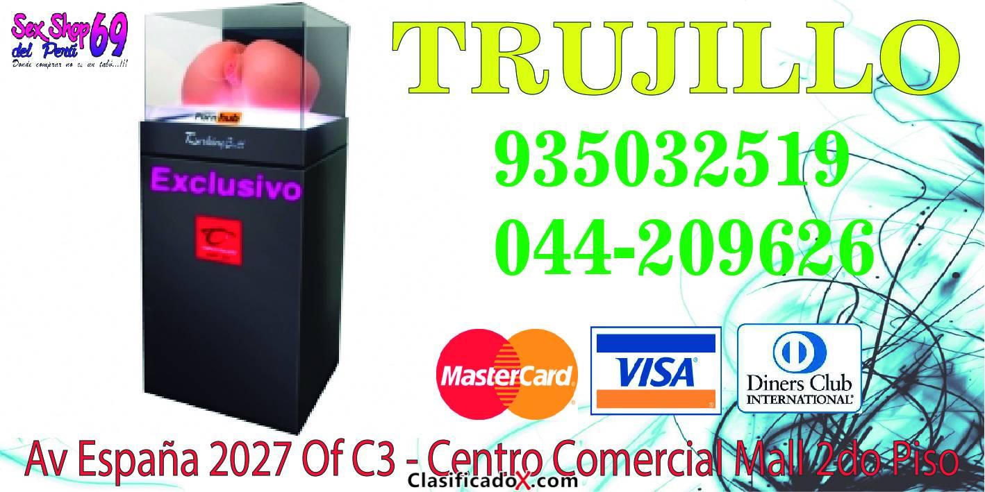 Tienda Trujillo: Av. España 2155 Tienda 208 2do piso (Centro Comercial el Protector).Telf. 044-230670 #995503130