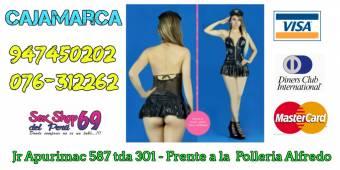 muñecas anillos y jueguetes sexuales  esclusivos Jr. Apurimac1 587 Tienda 301 (Frente a la pollería Alfredo) Telf.: 076-312262