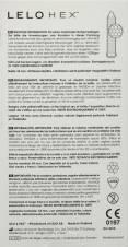 Lelo Hex Condones con Estructura Hexagonal Única - 12 Unidades. Envíos a Jaén
