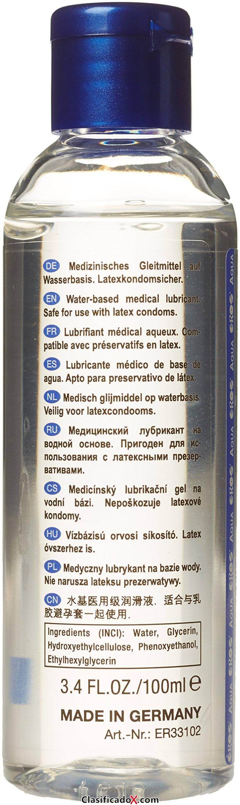 EROS aguamarina botella de 100 ml. Envíos a Las Palmas