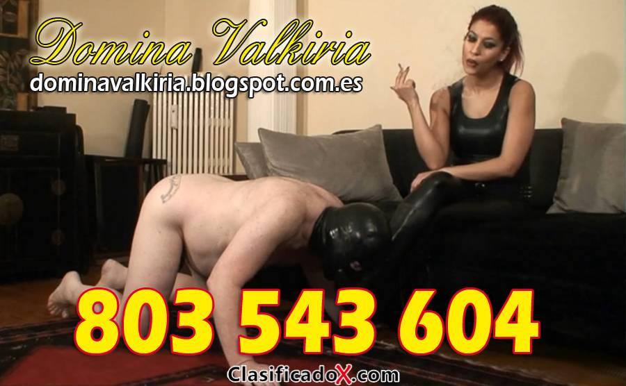 Domina Valkiria, sentirás el poder de una Diosa