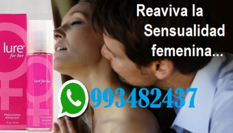 Feromonas Sexuales Lure Enamora Conquista Telf 993482440