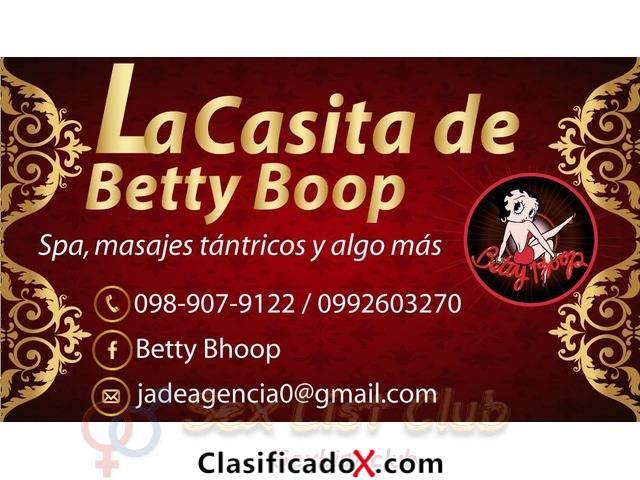 La casita de Betty Boop 5 nenas extranjeras 0989079122