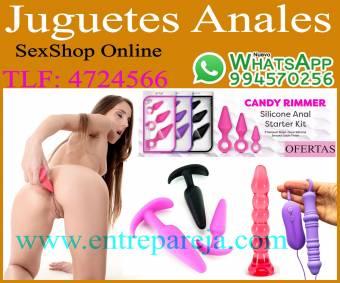 Juguetes anales dildo conito anal para dilatar y sentir mas placer Tlf: 4724566 - 994570256