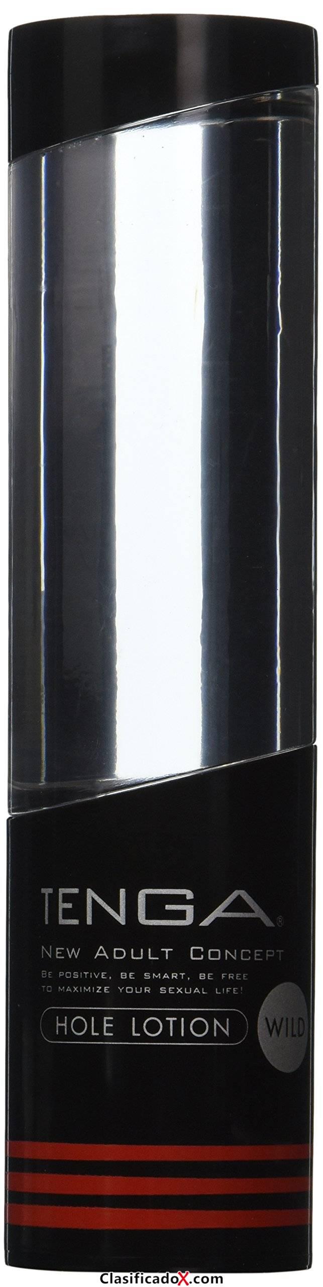 Tenga Loción Wild, Lubricante Masturbador, 4.4 x 17.7 x 4.4 cm, Color Transparente / Negro - 170 ml. Envíos a Las Palmas