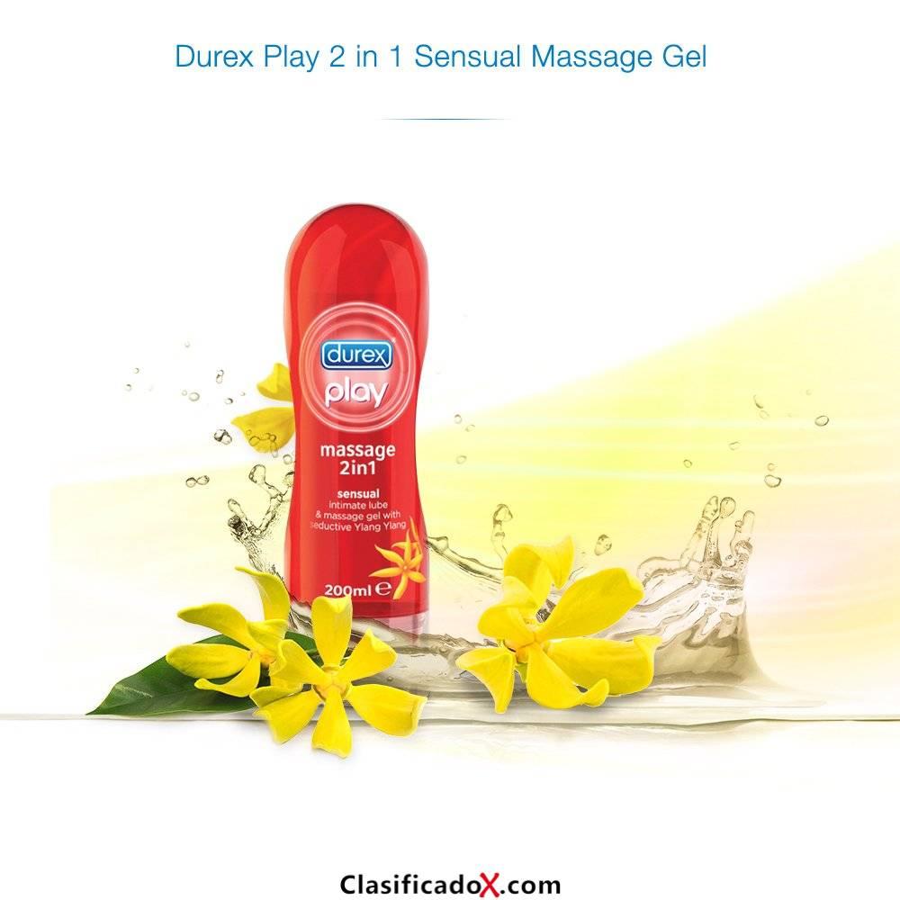 Durex Play Massage 2 en 1 Lubricante - 200 ml, Sensual. Envíos a Jaén