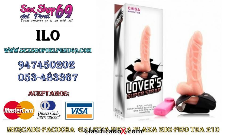 LOVERS SUPER STRAP (Prótesis) Teléfono: 053-483367