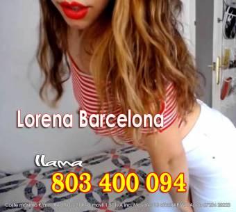Hola, soy Lorena, de Barcelona, 24 años