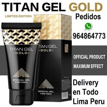 Titan gel Gold REQUIPA distribuidor