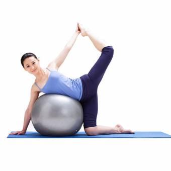 TESITE Bola De Yoga Fitness Danza Espesar Cadera De Pilates Gimnasia Bola De Equilibrio (Gris). Envíos a León