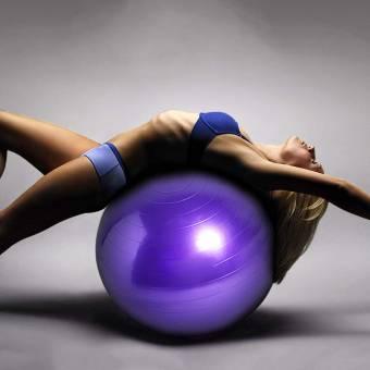 TESITE Pelota De Yoga Fitness Danza Espesar Cadera De Pilates Gimnasia Bola De Equilibrio (PúRpura). Envíos a León