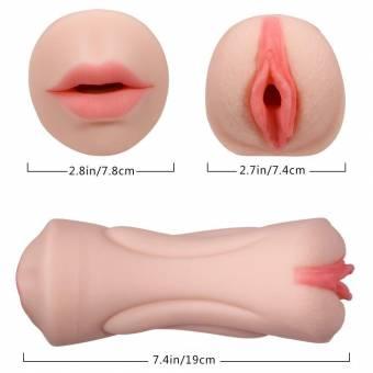 Lovey Angel Masturbador para Hombre Masturbádor Masculino Vagina Realista de Silicona Diversion Erótica Super Suave. Envíos a Granada