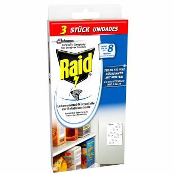Raid Trampa para polillas de la harina 2+1, pack de 2 (2 x 3 unidades). Envíos a Girona
