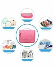 CINEEN Bolso cosmético/hogar Almacenamiento Paquete/Bolsa de Viajes/Neceser para Colgar Impermeable con Gancho y Mango para Organizar Accesorios de Baño (Rosa). Envíos a València