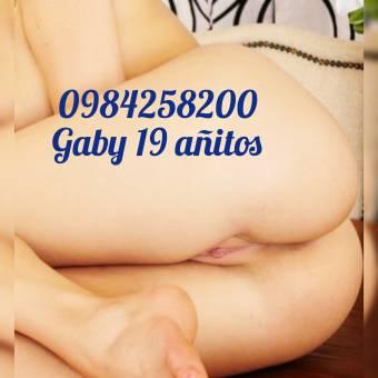 GABY 19 añitos atractiva de extreno tres platos hot canden