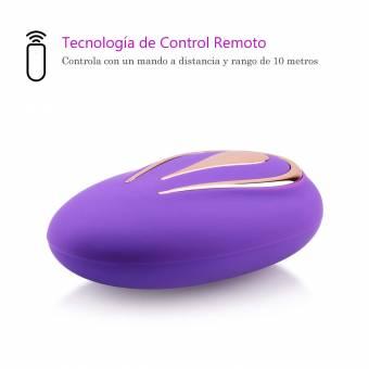 Huevo Vibrador, LENCENT Vibradores para Mujer Consoladores Juguetes Sexuales Clítoris Masajeador Punto G Vagina Consolador Masturbádor con Wireless | Control Remoto | Mando a Distancia | 12 Modos |